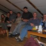 grupa domowa na hostelu